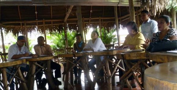 Vista parcial de los asistentes a la reunión del 16 de agosto de 2016.